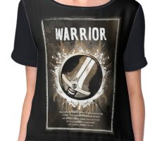Warrior Wow Chiffon Top
