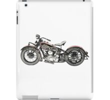 1937 Indian Chief Motorcycle iPad Case/Skin