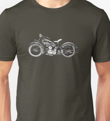 1937 Indian Chief Motorcycle Unisex T-Shirt