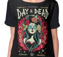 Day of the dead Chiffon Top