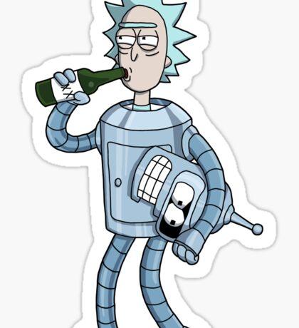Bender's Secret Sticker
