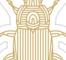 Poecilus Cupreus - Bug  Sticker