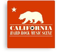 California Hard Rock Music Scene Canvas Print