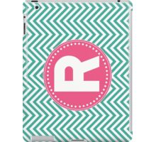 Chevron Letter R iPad Case/Skin