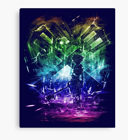 keystorm Canvas Print