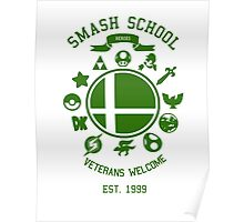 Smash School Veteran Class (Green) Poster