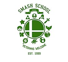 Smash School Veteran Class (Green) Photographic Print
