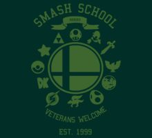 Smash School Veteran Class (Green) by Nguyen013