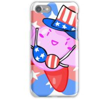 Patriotic Kirby iPhone Case/Skin