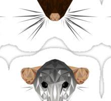 polygon rat sticker pack Sticker