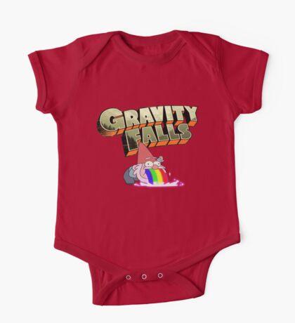 gravity falls gnome puke One Piece - Short Sleeve