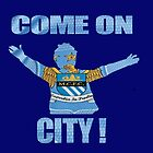Come on city by waylander99uk