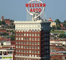 Kansas City - Western Auto Building by Frank Romeo