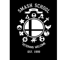 Smash School Veteran Class (White) Photographic Print