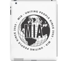 Uniting People Since 2003 iPad Case/Skin