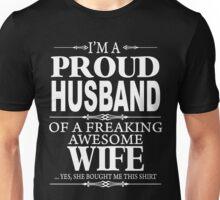 I'm a proud Husband xmas shirt Unisex T-Shirt