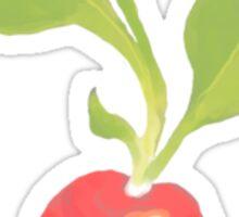 Radish Sticker Sticker