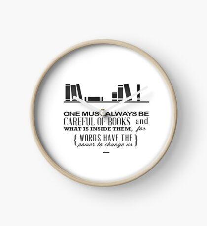 Book Quote - Cassandra Clare  Clock