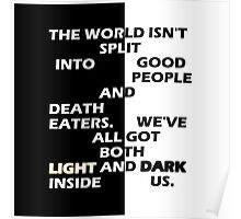 Good People and Death Eaters Poster