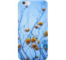 Yellow Streaching Flowwers iPhone Case/Skin