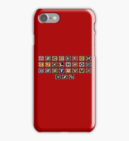 Keyboard Arcade Game iPhone Case/Skin