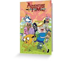 Adventure Time Phone Case Greeting Card