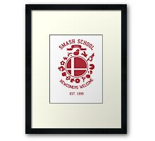 Smash School Newcomer (Red) Framed Print