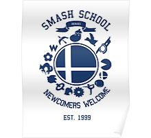 Smash School Newcomer (Blue) Poster