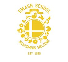 Smash School Newcomer (Yellow) Photographic Print