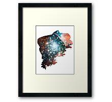Brush Cosmic Framed Print