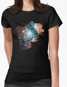 Brush Cosmic Womens Fitted T-Shirt