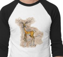 Mindle Deer Men's Baseball ¾ T-Shirt