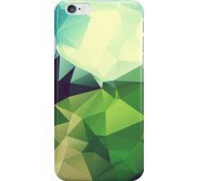 Green Hill Polygon iPhone Case/Skin