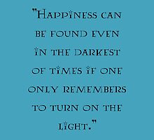 Albus Dumbledore - quote by Carol Oliveira