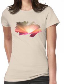 Brush Brightness Womens Fitted T-Shirt