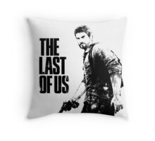 Joel in the last of us Throw Pillow