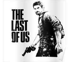Joel in the last of us Poster