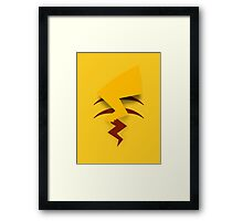 Pikachu Tail Framed Print