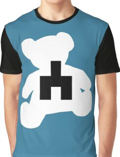 White bear black mirror Graphic T-Shirt