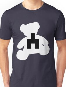 White bear black mirror Unisex T-Shirt