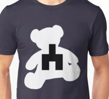 White bear black mirror Unisex T-Shirt