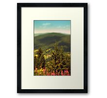 highland poland Framed Print