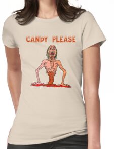 Halloween Candy Please Womens Fitted T-Shirt