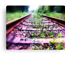 rail cologne germany Canvas Print