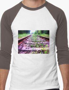 rail cologne germany Men's Baseball ¾ T-Shirt