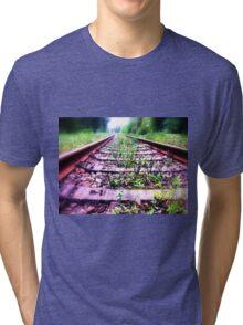 rail cologne germany Tri-blend T-Shirt