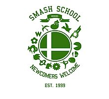 Smash School Newcomer (Green) Photographic Print