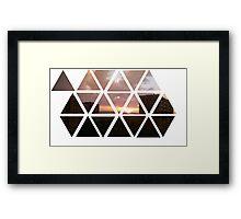warren sunset Framed Print