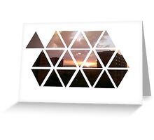 warren sunset Greeting Card