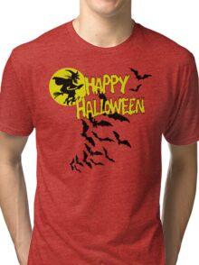 Happy Halloween Tri-blend T-Shirt